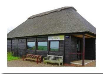 Cley Spy Marshes shop inside the NWT building at Cley Marshes, Norfolk